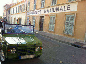 Méhari Verte gendarmerie
